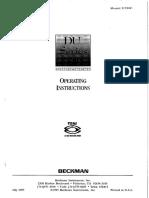 DU640 Spectrophotometer Manual1
