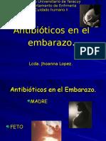 ANTIBIOTICOS EN EL EMBARAZO presentación.ppt