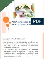proyectos de  sistemas de informacion