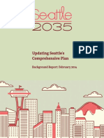 2014 - Seattle 2035 Background Report