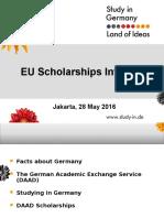 EU Scholarships Info Day - DAAD
