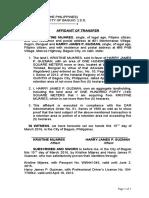 23. Affidavit of Transfer .docx