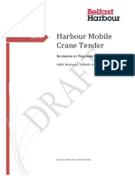 2016S-141-255082 Harbour Mobile Crane Tender ITN R2-0 PQQ Stage Released