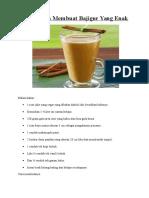 Makanan Dan Minuman Sunda
