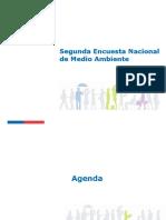 Segunda Encuesta Nacional de Medio Ambiente