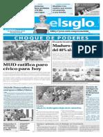 Edición Impresa Elsiglo 28-10-2016