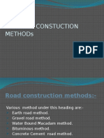 Road Constuction Method