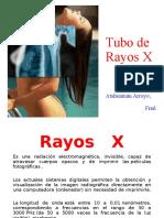 14. Tubo de rayos X