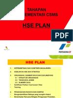 Presentasi Hse Plan-pertamina Format