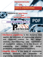 presentation on mechanical engineering