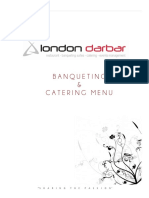 Banqueting Menu- London Darbar