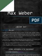Presentacion Max Weber PDF.pdf