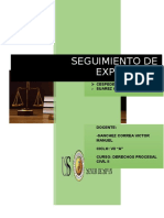 Expediente Procesal Civil Sanches Correa PARA MAÑANA