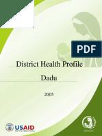 District Health Profile Dadu