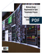 20141014 PSC Item 04 Minimum Design Requirements for Open Transmission Projects
