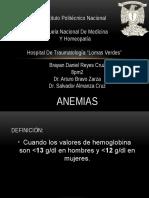 Anemias es cirugía