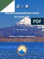 1. Kailash Overland Yatra - 13 Days