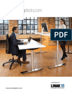Linak Deskline Moving Desks Brochure Us