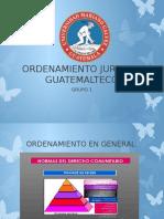 ORDENAMIENTO JURIDICO GUATEMALTECO