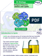 Biological Molecules Proteins Lipids Part 2 - Lipids