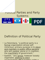 13 Political Parties and Party Systems (1)