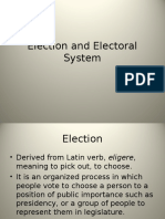 14 Election and Electoral System