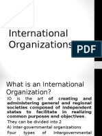 19 International Organizations