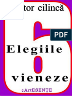 CArtESENTE Nr. 6 Victor Cilinca - Elegiile Vieneze