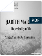 RKQS 2021 Rejected Hadith PPT