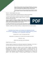 Directriz 01-2010  Entrega de Expedientes Act Jud No contenciosa.doc