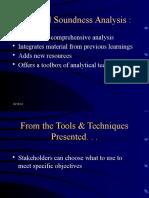 Fin Soundness Analysis