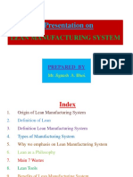Lean Manufacturing System by Jignesh A. Bhoi