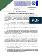 Result Notice for Dv of 022014 - Sseje_1