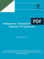 11. Mekanisme Transmisi Kebijakan Moneter Di Indonesia