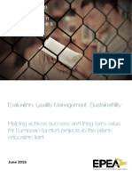 Prison Education Projects - Evaluation by the EPEA