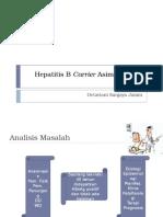 Hepatitis B Carrier Asimptomatik - 17