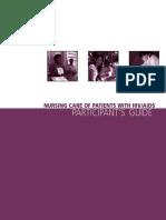 Nursing Care of Patients With HIV-AIDS (Participants Guide)