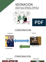 EXTINCION DE LAS OBLIGACIONES- CONDONACION Y CONSOLIDACION