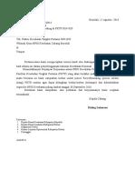 Surat Pengantar Recredensialing