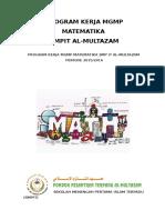 Program Kerja Mgmp Matematika Smpit Am 2015 2016