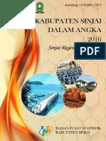 Kabupaten Sinjai Dalam Angka Tahun 2016