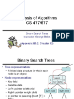 Algorithms Data Structures 01 Binary Search Tree