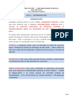 THCURSOS Contabilidade Publica CGM SP 2015 Aula 1