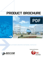 BDCOM Brochure May 2015