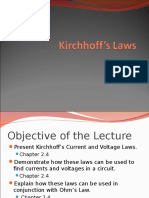 Kirchoff Laws