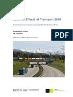 External Effects of Transport