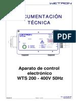 Documentación Técnica Caja WTS200