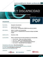 Programa Def. Sesión Formativa CERMI Madrid-Ayto. Madrid MUJER Y DISCAPACIDAD