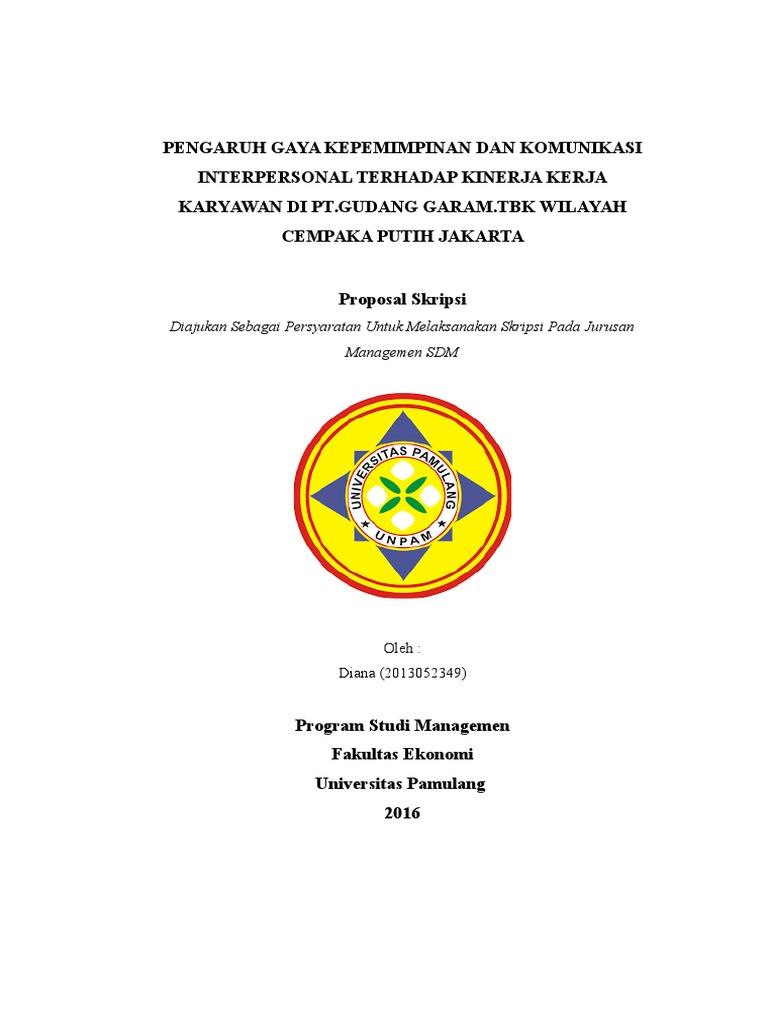 Proposal Skripsi Rachma 1 Docx Pengaruh Disiplin Kerja Terhadap Kinerja Karyawan Pada Pt Fastfood Indonesia Cabang Cinere Depok Tugas Proposal Skripsi Course Hero