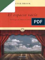 Peter Brook-El Espacio Vacío-Península (2012)